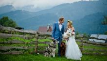 Zdjecia Slubne w Gorach Zakopane Tatry